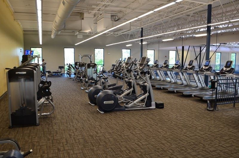 Exercise Equipment at the Fitness Center