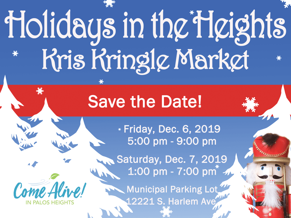 Save-the-Date Kris Kringle Market 2019